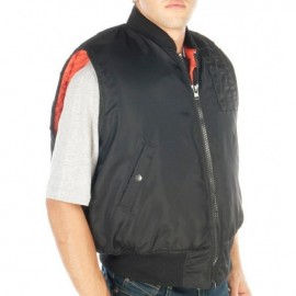 Windbreaker Fight Jacket Without Sleeve Bullet Proof Vest Protection Level 3A Color Black