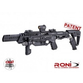 Roni C G2 CAA Tactical Aggressive Look Roni PDW Converter with Long Muzzle for Glock Gen 3 & 4 Models
