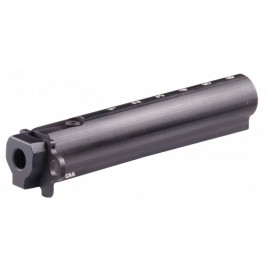 CAA Tactical AKTM - AK47 Milled Receiver 6 Position Aluminum Tube w storage accepts M4 Carbine Stock