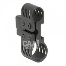 CAA Tactical AL134 - Dual Aluminum Picatinny Mount For Laser & Light Aluminum Made