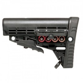 CAA Tactical - CBS - Collapsible Butt Stock with batteries compartment & Picatinny Rail