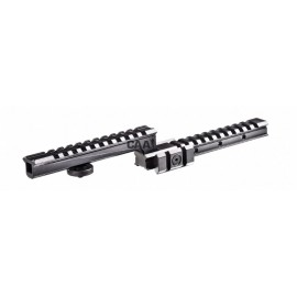 CAA Tactical CHMF - Z Design 4 Picatinny Rails for the Carry Handle Aluminum Made for M16 / M4 / AR15 Carry Handle