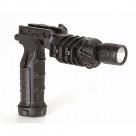 CAA Tactical FGA + TC1 - Front Arm Vertical Grip Combined With Flashlight Adaptor & TC1 Flashlight