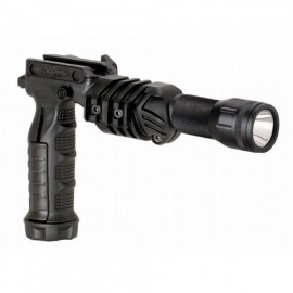 CAA Tactical FGA + TC3 - Front Arm Vertical Grip Combined With Flashlight Adaptor & TC3 Flashlight