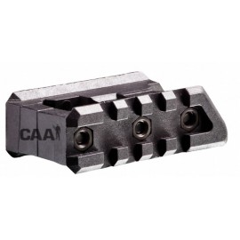 CAA Tactical FSM15P - 2 Picatinny Rails Side by Side Mount for Front Sight Polymer Made M16 Carbine / Rifle