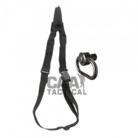 CAA Tactical OPS + PBSS - One Point Sling & Swivel Adaptor Aluminum & Textile Made
