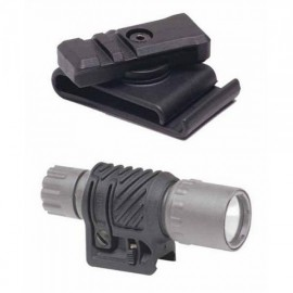CAA Tactical RC1 + PL2 - 51mm Belt Picatinny Rail Clip + Light Adaptor Polymer Made
