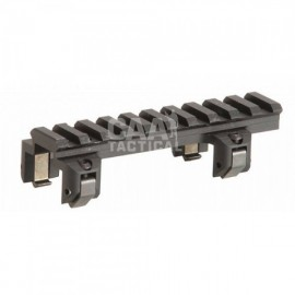 CAA Tactical TR5 - Tight Top Mount Picatinny Rail - Ideal for Red-Point Sights and For MP5/K/SD G3